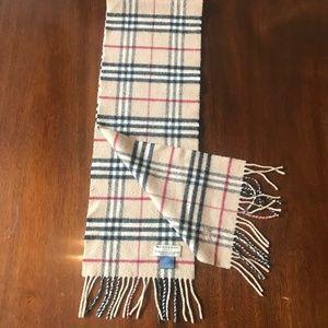Burberry London Cashmere/Merino Wool Scarf